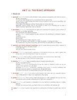 Tài liệu Luyện thi TOEIC- Từ vựng bài 12 pdf