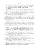 Tài liệu Những chuyển biến mới về kinh tế-xã hội ở Việt Nam từ sau chiến tranh thế giới thứ nhất pdf