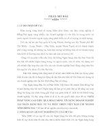 Đề tài GIẢI PHÁP NÂNG CAO HIỆU QUẢ HOẠT ĐỘNG tín DỤNG DOANH NGHIỆPTẠI NGÂN HÀNG đầu tư và PHÁT TRIỂN VIỆT NAM CHI NHÁNHTỈNH ĐỒNG NAI