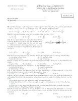 Tài liệu Bộ đề ôn thi tốt nghiệp ban khoa học tự nhiên môn lý đề 2 docx