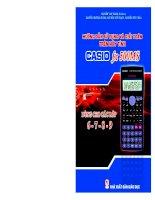Tài liệu Hướng dẫn sử dụng và giải tóan trên máy tính Casio FX 500MS docx