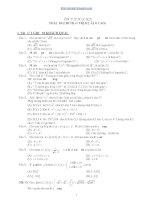 Tài liệu Trắc nghiệm ôn tập học kỳ 1 toán lớp 10 nâng cao pdf