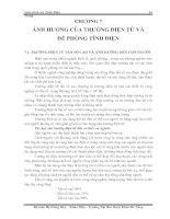 Tài liệu Giáo trình An Toàn Điện Chương 7 pptx