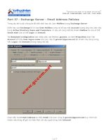 Tài liệu Part 37 - Exchange Server - Email Address Policies pdf