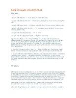 Tài liệu Động từ nguyên mẫu pdf