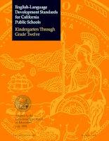 Tài liệu English Language Development Standards - Content Standards ppt