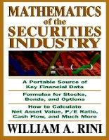 Tài liệu McGraw.Hill.Mathematics.Of.The.Securities.Industry pdf