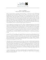 Tài liệu PAUL A. LONDON Chủ tịch, Paul A. London and Associates doc
