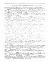 Tài liệu CHUYÊN ĐỀ: PHƯƠNG PHÁP BẢO TOÀN MOL ELECTRON docx