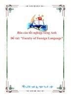 Tài liệu Báo cáo tốt nghiệp tiếng Anh