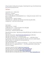 Tài liệu Những WEBsite tiện ích 9 doc