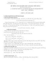 Tài liệu Kiến thức, công thức sinh học lớp 12 docx
