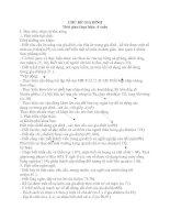 KẾ HOẠCH TỔ CHỨC HOẠT ĐỘNG -CHỦ ĐỀ NHÁNH : GIA ĐÌNH BÉ