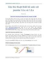 Tài liệu Thủ Thuật Thiết Kế Web Với Joomla 1.0x và 1.5x part 14 ppt