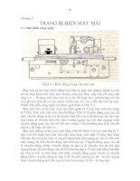 Tài liệu Chương 5: TRANG BỊ ĐIỆN MÁY MÀI pptx