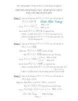Tài liệu Một số phương pháp vẽ đồ thị của hàm số có chứa dấu giá trị tuyệt đối docx