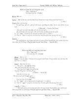 Bài giảng Ngữ Văn 9 HKI hay