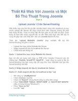 Tài liệu Thiết Kế Web Với Joomla part 4 pdf