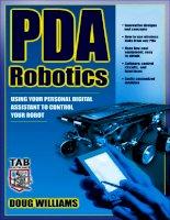 Tài liệu PDA Robotics - Using Your Personal Digital Assistant to Control Your Robot ppt