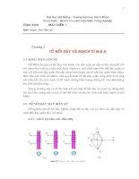 Tài liệu Tổ nối dây và mạch từ M.B.A ppt