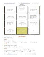 Bài giảng Đề thi violympic toán 8 vòng 1 đến 10