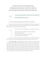 Tài liệu TỔ CHỨC THỰC HIỆN HOẠT ĐỘNG KINH DOANH THEO ĐỊNH HƯỚNG CHIẾN LƯỢC - KIỂM TRA VÀ ĐÁNH GIÁ VIỆC THỰC HIỆN HOẠT ĐỘNG KINH DOANH THEO CHIẾN LƯỢC doc