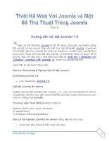 Tài liệu Thiết Kế Web Với Joomla part 5 doc