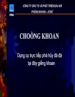 DRILL BIT - CHOONG KHOAN