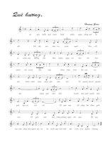 Tài liệu Bài hát quê hương - Hoàng Giáp (lời bài hát có nốt) docx