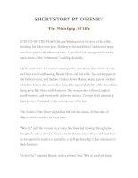 Tài liệu LUYỆN ĐỌC TIẾNG ANH QUA TÁC PHẨM VĂN HỌC-SHORT STORY BY O'HENRY The Whirligig Of Life doc