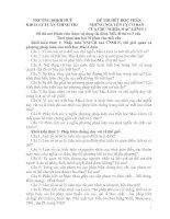 Đán án những nguyên lý cơ bản mác lênin   nhạc viện 2  kỳ 1 2012 2013
