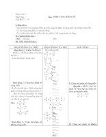 Bài giảng Giao an Dai so lop 6 tiet 79-94