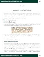 Tài liệu Google Adwords-Chapter 3