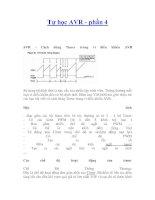 Tài liệu Tự học AVR - phần 4 - Cách dùng Timer trong vi điều khiển AVR doc