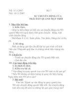 Tài liệu Địa lý lớp 6 bài 7 pptx