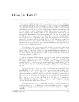 Tài liệu Chương 9. Thừa kế trong lập trình C++ pptx