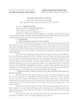 Tài liệu BAI THU HOACH HOC TAP TAM GUONG DD HCM