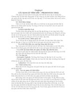 Tài liệu Chương 8 : Các Quan sát Trình diễn ( Presentation Views) pptx