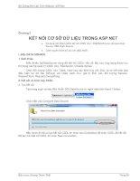 Tài liệu Bài Giảng Môn Lập Trình Website ASP.Net part 8 pdf