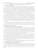 Tài liệu Tiểu luận kinh tế phát triển pdf