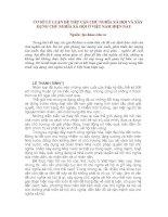 Tài liệu CƠ SỞ LÝ LUẬN ĐỂ TIẾP CẬN CHỦ NGHĨA XÃ HỘI VÀ XÂY DỰNG CHỦ NGHĨA XÃ HỘI Ở VIỆT NAM HIỆN NAY docx