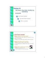 Tài liệu Chương 10 Kế hoạch, thực hiện và kiểm tra marketing pdf