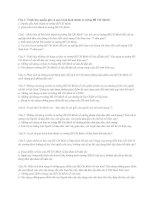 đề cương Tư Tưởng Hồ Chí Minh - Môn Chính Trị