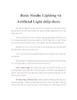 Tài liệu Basic Studio Lighting và Artificial Light (tiếp theo) pdf