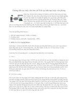 Tài liệu Hướng dẫn tạo máy chủ lưu trữ Web tại nhà bạn hoặc văn phòng doc