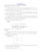 Các dạng bài tập toán nâng cao lớp 7