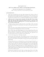Tài liệu Hệ thống chuẩn mực kế toán Việt Nam - Chuẩn mực số 330 Thủ tục kiểm toán trên cơ sở đánh giá rủi ro ppt