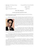 Tài liệu Bài thu hoạch Đi tham quan Bảo tàng Hồ Chí Minh docx