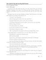 Tài liệu Hồ sơ thiết kế lắp đặt hệ thống CoIP Clarent (Phần IV.2) pptx
