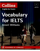 Vocabulary for IELTS - Collins